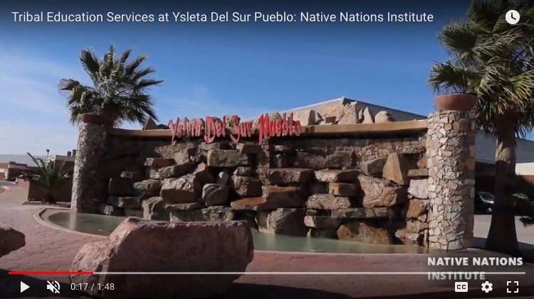 Tribal Education Services Native Nations Institute