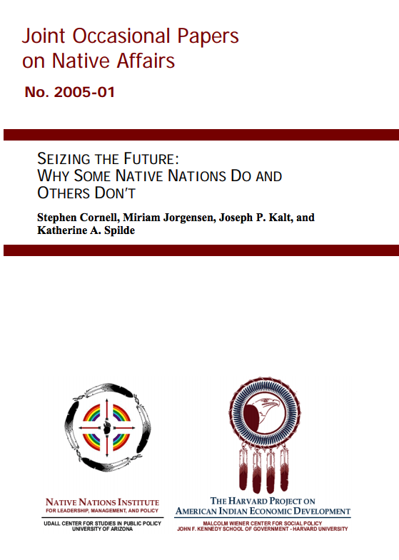 Seizing the Future: Why Some Nations and Do and Others Don't