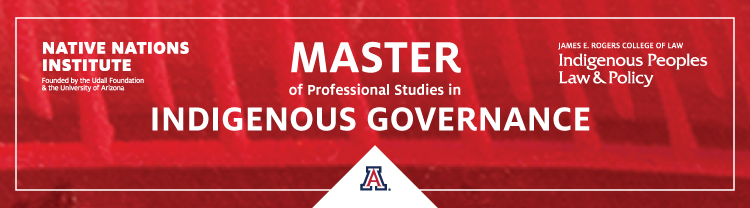 Master of Professional Studies in Indigenous Governance