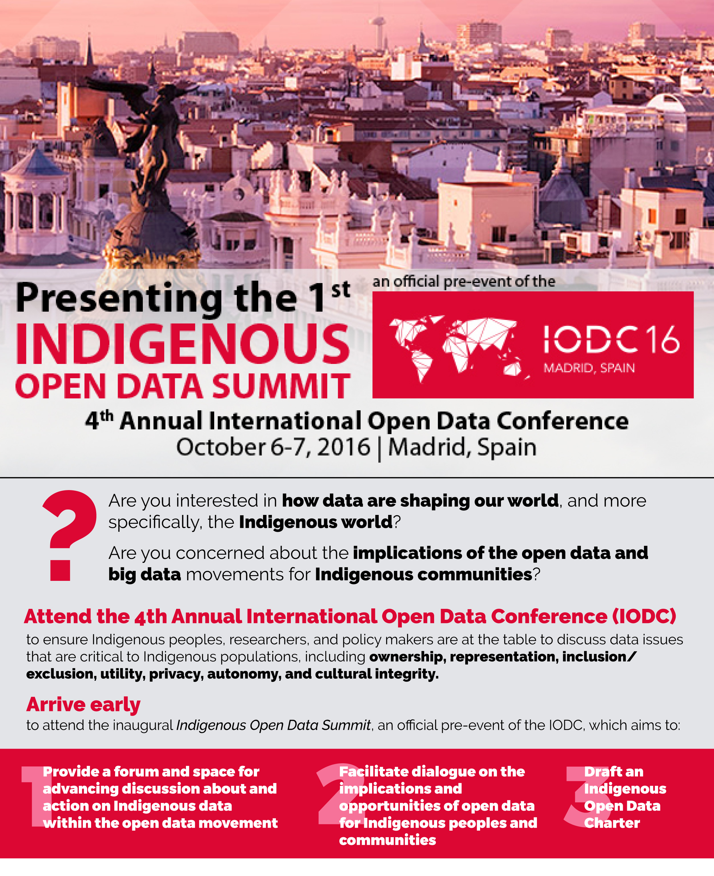 Presenting the 1st Indigenous Open Data Summit