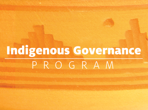 Indigenous Governance Program
